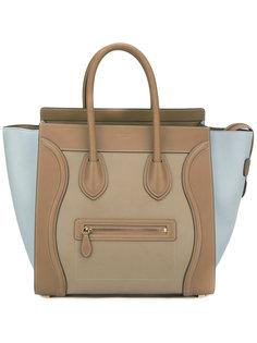 сумка-тоут с контрастными панелями Céline