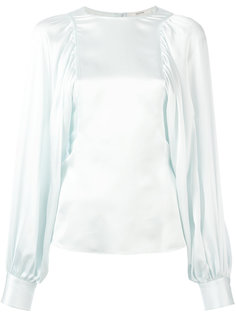 блузка с зауженными манжетами Céline