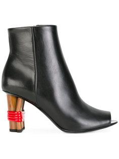 ботинки с открытым носком  Balenciaga