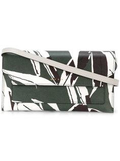 сумка через плечо с лиственным принтом Marni