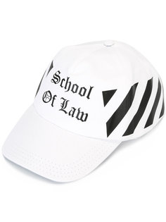 бейсболка с принтом School of Law Off-White