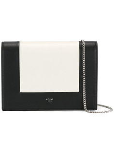 сумка на плечо дизайна колор-блок Céline