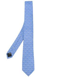 вышитый галстук Fendi