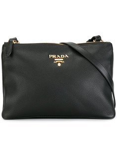сумка через плечо с застежкой на молнию Prada