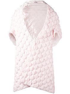 жилет Crochet Bubble Miu Miu