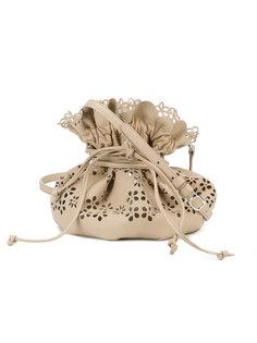 перфорированная сумка на завязках Simone Rocha