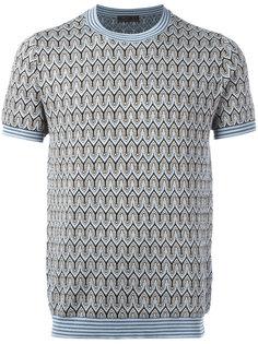 футболка вязки-интарсия Prada