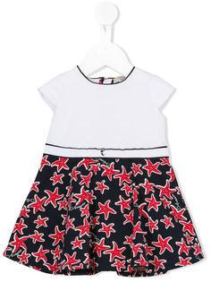 starfish print dress Armani Junior