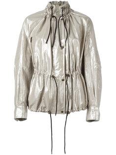 металлизированная куртка с люрексом Isabel Marant