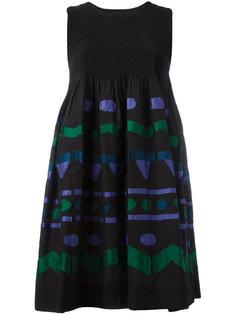 платье с геометрическими панелями Issey Miyake Cauliflower