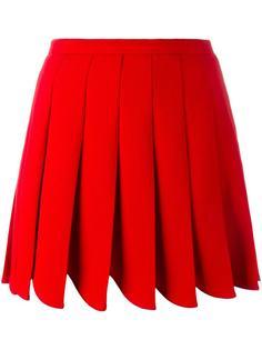 плиссированная юбка  Miu Miu