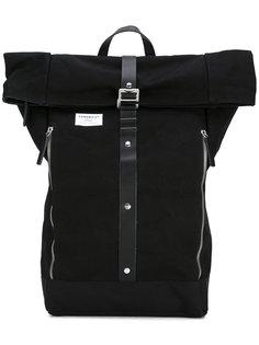 Rolf waxed backpack Sandqvist
