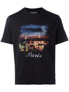 "футболка ""Paris"" Balenciaga"