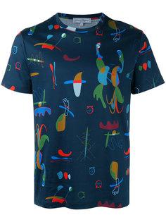 футболка с рисунками Salvatore Ferragamo