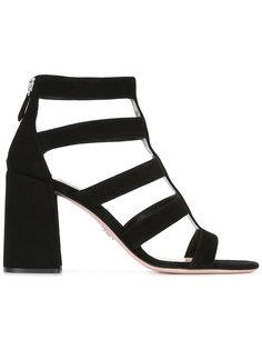босоножки на каблуке-столбик Prada
