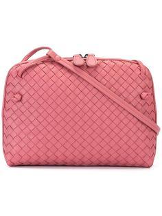 сумка через плечо с плетеным узором Bottega Veneta