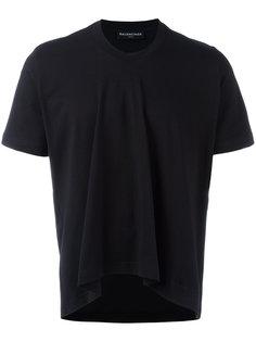 укороченная футболка Balenciaga