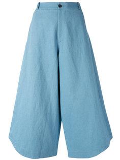 Summer cropped trousers Société Anonyme