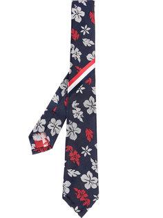 галстук с цветочным принтом Thom Browne