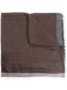 шарф дизайна колор-блок Cerruti 1881