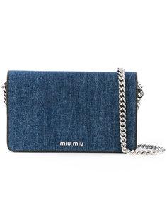 сумка с откидным клапаном Miu Miu