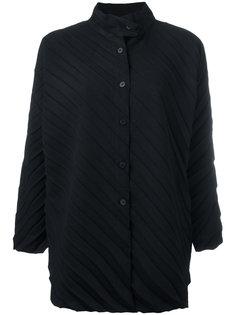 ribbed knitted coat Issey Miyake Cauliflower