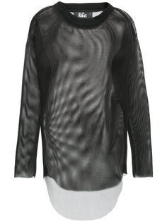 perforated long sleeve top The Reracs