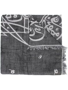 шарф с принтом Thamanyah