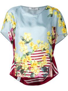 floral print blouse Blugirl