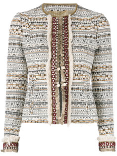 embellished cropped jacket  Bazar Deluxe