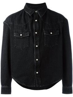 джинсовая куртка мешковатого кроя Balenciaga