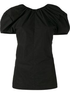 блузка с V-образным вырезом сзади Céline