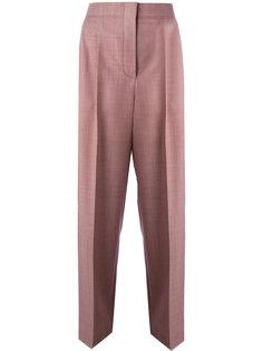 широкие укороченные брюки  Céline