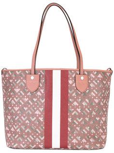 сумка-тоут с контрастным дизайном Bally