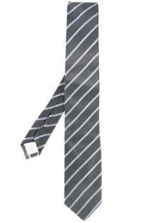 галстук в полоску Prada
