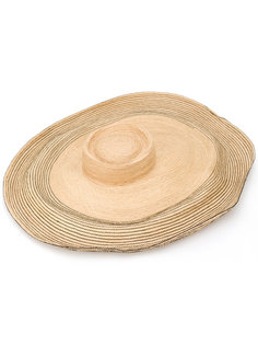 oversized straw hat Lola Hats