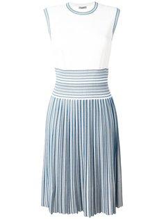 полосатое платье  Bottega Veneta