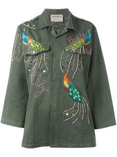 куртка в стиле милитари с блестящей отделкой Night Market