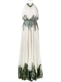длинное платье Chavi  Maria Lucia Hohan