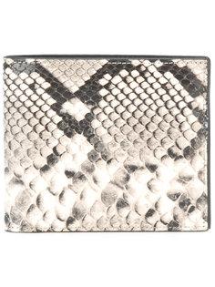 кошелек с принтом под кожу питона Maison Margiela