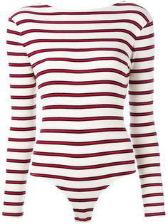 striped leotard Harmony Paris