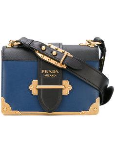 сумка на плечо с золотистой фурнитурой Prada