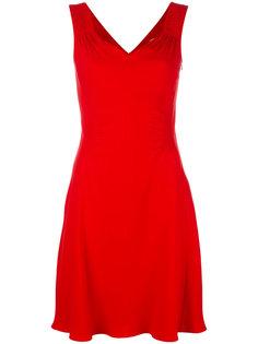 приталенное платье без рукавов Dior
