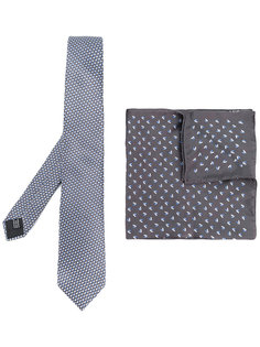 комплект из галстука и нагрудного платка Lanvin