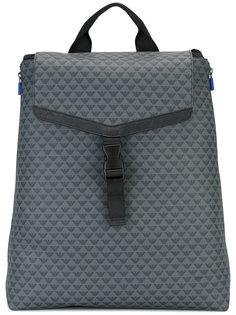 рюкзак с принтом-логотипом Emporio Armani