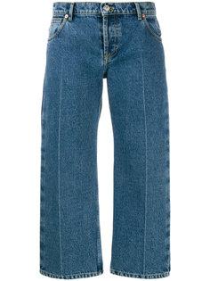 укороченные широкие джинсы Balenciaga