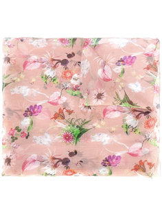 floral print scarf  Blumarine