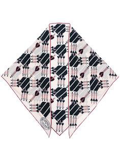шарф с принтом мечей Valentino
