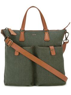 сумка на плечо с контрастной отделкой  Zanellato