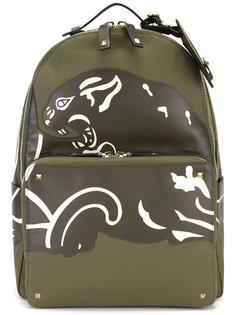 рюкзак с кожаными панелями Valentino